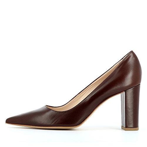 Evita Shoes Jessica, Scarpe col tacco donna Dunkelbraun