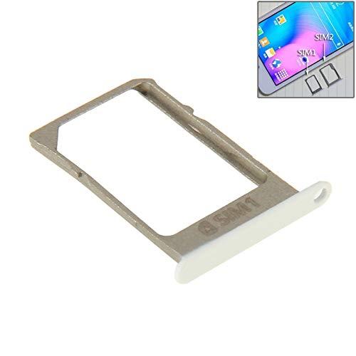 CHQM SIM-Karte einlegen PH Kleines Einzelkartenfach für Galaxy A3 / A5 (Schwarz) (Farbe : Weiß)