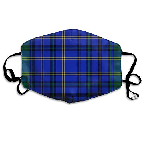 liulishuan Hope Weir Tartan Dust Mouth Maske,Cartoon PM2.5 Anti Dust Pollution Maske with Adjustable Straps Cotton Mouth Maske Design12