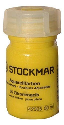 Stockmar acquarello 50cc monocromatica (giallo limone)