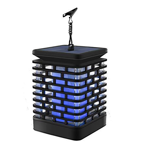 Laterne Beleuchtung, Wasserdicht im Freien Flamme hängende Laterne LED Nachtlicht Landschaft Dekorativ für Garten-Patio-Plattform-Yard-Weg(Blau) ()