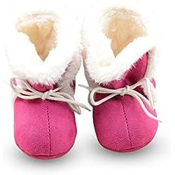 Inverno Neonata legare Booties Newborn piccoli Kid accogliente pattini della greppia