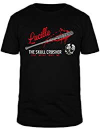 FabTee Lucille The Skull Crusher - Men Organic Cotton T-Shirt - Size S-3XL