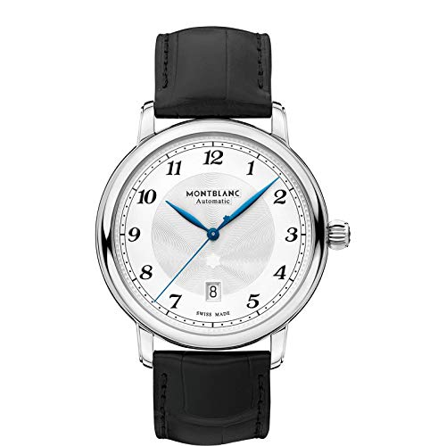Orologio Montblanc Star Legacy Automatico Date Quadrante Bianco Argentè 42 mm