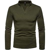 Pullover Herren V-Ausschnitt Sweater Männer Sweatshirt Hoodies Langarmshirt Basic Tee Herbst Winter Oberteile Btruely