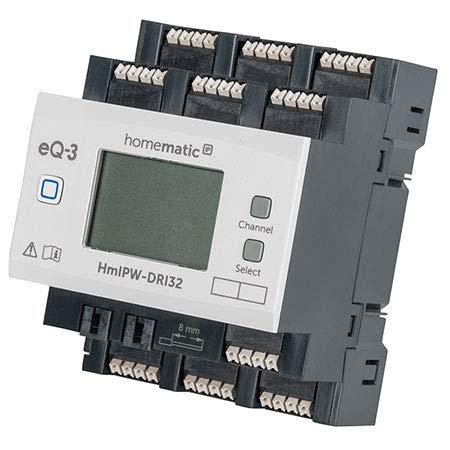 Homematic IP Wired 32-fach-Eingangsmodul HmIPW-DRI32
