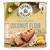 Coconut Merchant - Harina de coco orgánica, 500 gramos