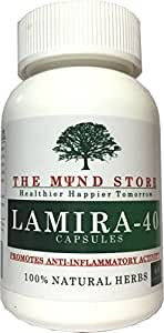 Lamira-40 Capsules Promotes Anti-Inflammatory Activity with Natural Herbs