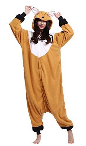 Imagen de wamvp kigurumi pijama animal unisex para adultos traje de disfraz zorro s