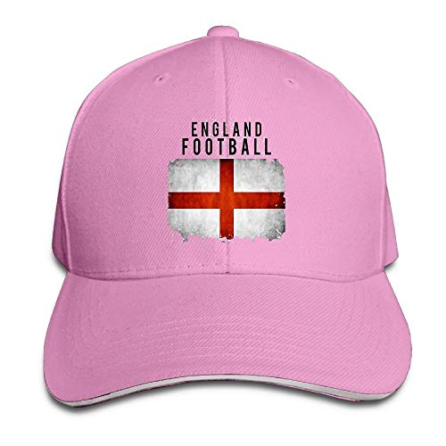 England Football 2018 Cotton Adjustable Peaked Baseball Cap Adult Sandwich Hat
