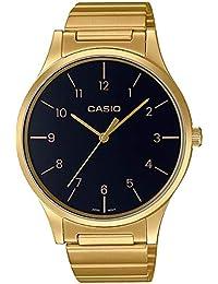 Casio Reloj Analógico para Mujer de Cuarzo con Correa en Acero Inoxidable LTP-E140GG-
