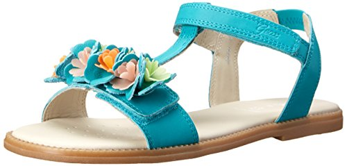 Geox J S Karly G B, Sandales fille Turquoise