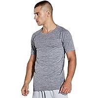 KomPrexx T-shirt de Sport Homme Tee Shirt de Running Séchage Rapide pour Fitness - MKO3T