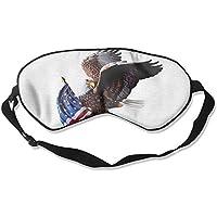 Eye Mask Eyeshade American Eagle Flag Sleeping Mask Blindfold Eyepatch Adjustable Head Strap preisvergleich bei billige-tabletten.eu