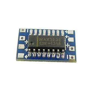 Aihasd Mini RS232 to TTL Converter Module Board Adapter MAX3232 120kbps 3-5V Serial Port
