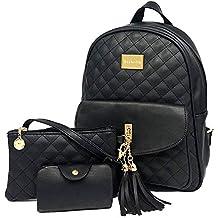 c63195ec7e Beylasita Borsa da donna Zaino Casual Classic Daypack Multifunzione Nero