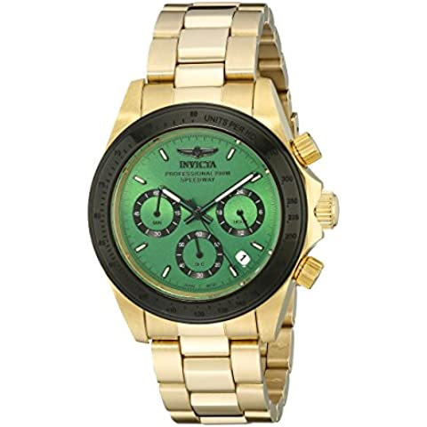 Invicta 17315 Men's Speedway Black Bezel Green