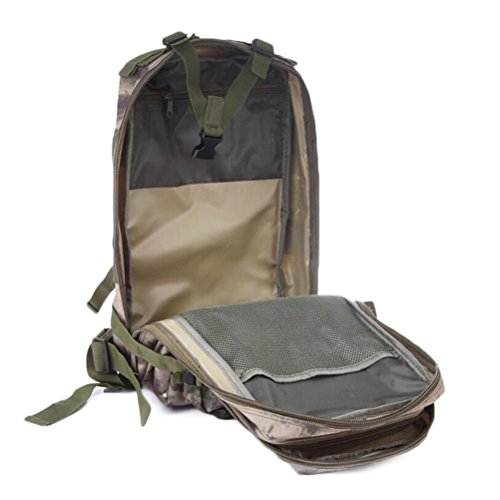 Rucksack 3P Extremsport Klettern Camouflage Taktik Ride Outdoor Rucksack jungle digital