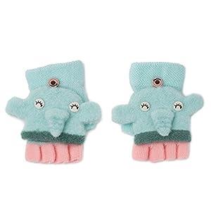 Unbekannt XIAOYAN Handschuhe Kinder Handschuhe In Winter Cartoon Baby Infant Finger Handschuhe Niedlich Geeignet Für 1-3-jährige Baby, Bequem