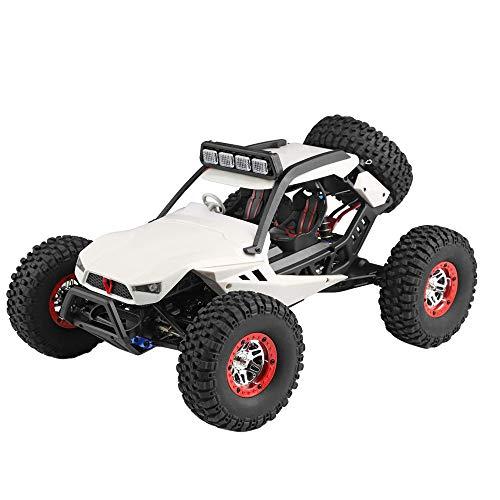 Mamum Wl 540Brush Motor High Speed Offroad Fahrzeug Spielzeug mit LED-Lichtern, 40 km/h 1:12 4D 2,4 G Funkfernbedienung Auto ()