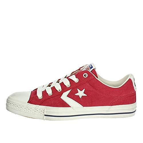 best service 93a79 b5811 Converse Sneakers Uomo Star Player 160923C GARNET EGRET NAVY, Distressed Ox,