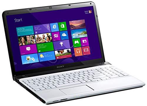 Sony Vaio SVE1512J6E, Processore Intel Core i3, 2.4 GHz, 15.5 Pollici, HDD 640 GB, RAM 4 GB, Colore Bianco (Ricondizionato Certificato)