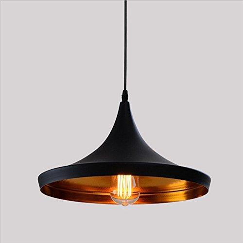 Retro Industrial Lámpara de Techo - E27 Vintage Colgante de Luz Moderna...