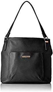 Caprese Womens Zip Closure Tote Handbag