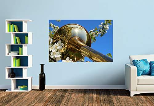 Premium Foto-Tapete Der Glanz der Blechblasinstrumente (versch. Größen) (Size S | 186 x 124 cm) Design-Tapete, Wand-Tapete, Wand-Dekoration, Photo-Tapete, Markenqualität von ERFURT