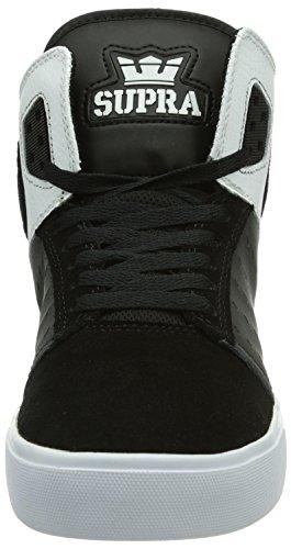 Supra ATOM Herren Hohe Sneakers Schwarz (BLACK/WHITE - WHITE     BWW)