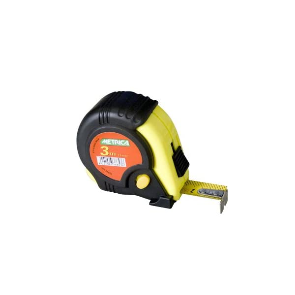 Metrica-38653-Tape-Measure-3m-guaina-del-cavo-3-Freins