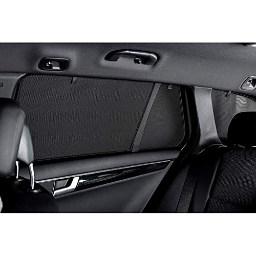Car Shades suz-swft-5-c Set de Parasol, Negro