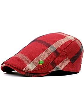 LOCOMO Hats – gorro o boina de cuadros Newsboy boina gorro modelo FFH032