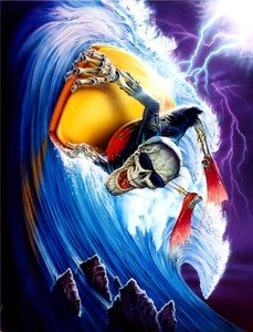 SIGNS 2 ALL s3550mgl Extreme zombies- Bodyboarder (Robin -