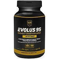 HSN Sports Evolus 95 Tribulus Terrestris 95% Saponinas - 180 Capsulas