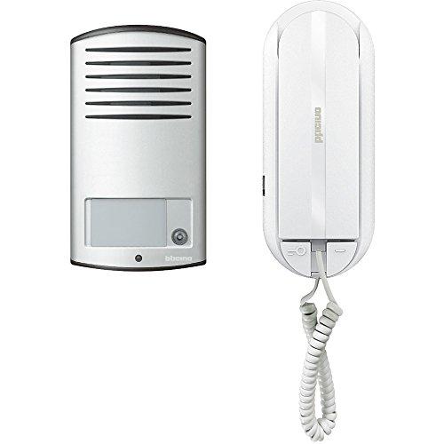 BTicino 366811 Interphone à 1 combiné, 2 fils