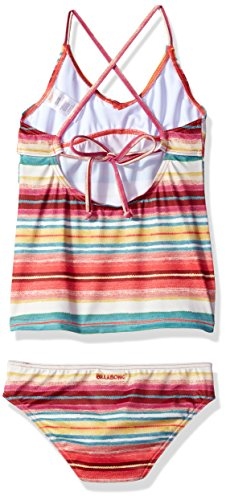 0a48632d61 Billabong Girls' Surfin Billa Tankini Two Piece Swimsuit Set ...
