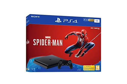 PlayStation 4 (PS4) - Consola de 1 TB + Marvel's Spider-Man
