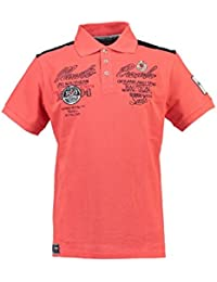 Geographical Norway - Polo Homme Geographical Norway Kare Orange