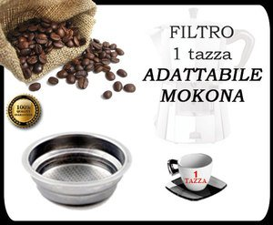 G107 Mokona (Magic Knight Bialetti Filtre pour Cafetière/machines expression Gaggia 1 tasse