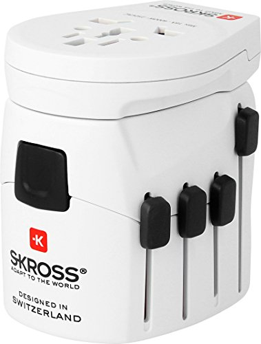 Skross 1.302530 Interior Blanco adaptador e...
