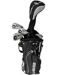 Go Lamps Kid Web de Golf Set–Gris anthracite, taille 13–16
