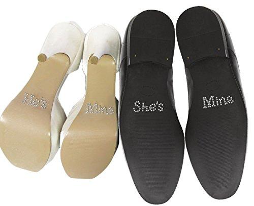 set-von-he-s-mine-she-s-mine-kristall-strass-hochzeit-schuh-aufkleber-silber