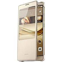 Huawei 51991400 Libro Oro funda para teléfono móvil - Fundas para teléfonos móviles (Libro, Mate 8, Oro)