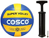 Cosco Super Volley Ball and Cosco Hand Pump