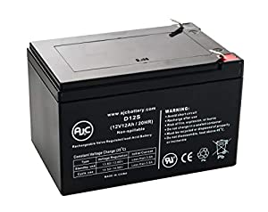 Para Systems Quickie P-11 12V 12Ah Wheelchair and Mobility Battery - This is an AJC Brand Replacement