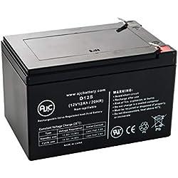 Batterie Currie Scooter E-Ride 12V 12Ah Vélo électrique - Ce Produit est Un Article de Remplacement de la Marque AJC®