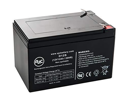 Batterie BB EP12-12-T2 12V 12Ah UPS - Ce Produit est Un Article de Remplacement de la Marque AJC®