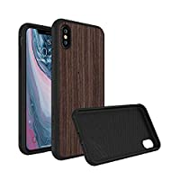 RhinoShield Full Impact Protection Case for [ iPhone X ], Military Grade Drop Protection, Slim, Scratch Resistant Without Screen Protector Black
