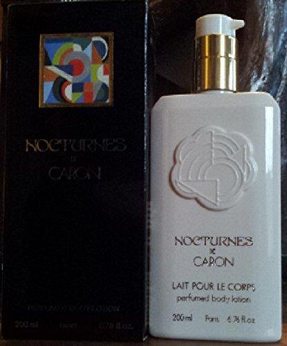 nocturnes de caron body milk splash 200 ml 6.7 floz